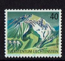 1991 LIECHTENSTEIN TIMBRE DE MONTAGNES - STAMP MOUNTAIN MNH - Liechtenstein