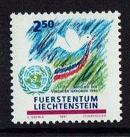 1991 LIECHTENSTEIN COLOMBE DE LA PAIX - STAMP PIGEON PACE MNH - Liechtenstein