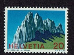 1991 SUISSE TIMBRE DE MONTAGNES ALPES - SWITZERLAND STAMP MONTAIN ALPSTEIN MNH - Suiza