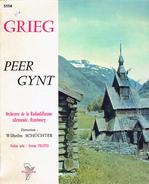 Grieg - Peer Gynt, Direction Wilhelm Schüchter Orchestre De La Radiodiffusion Allemande, Hambourg - Classique