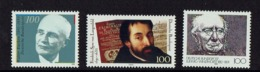 GERMANY THREE STAMPS MNH MAN FAMOUS MNH 1 MUSIQUE - Celebridades