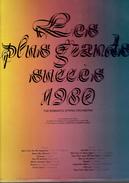 Les Plus Grands Succès 1980 Par The Romantic String Orchestra - Compilaties