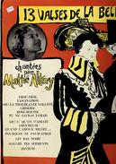 13 Valses De La Belle époquie Chantées Par Mathé Altéry - Compilations