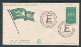 1960 Journée De L´ Europe - Ecole Des Cadres - FDC