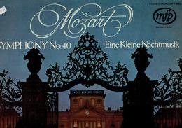 Mozart- SYMPHONIE N° 40 - Eine Kleine Nachtmusik Pittsburgh Symphony Orchestra William Steinberg - Classique