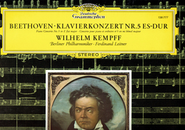Beethoven - Concerto Pour Piano N° 5 Par Wilhelm Kempf Deutsche Grammophon - Klassik