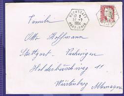 Cachet Hexagonal Hochstatt Bas-Rhin 1964 - Marcophilie (Lettres)