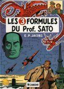 Blake Et Mortimer: Les 3 Formules Du Professeur Sato T1 Rééd - Blake Et Mortimer