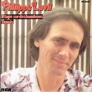 PHILIPPE LAVIL : Il Tape Sur Des Bambous + Tennis - Vinylplaten