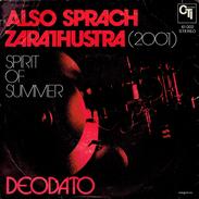 ALSO SPRACH ZARATHUSTRA (2001) + SPIRITOS SUMMER - Filmmuziek
