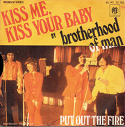 KISS ME, KISS YOUR BABY Par Brotherhood Of Man - Vinylplaten