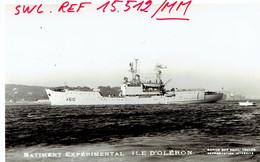 Photo Véritable Du Bateau Expérimental Île D'Oléron 29/5/1967 - Bateaux