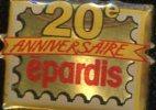 PIN´S 20e ANNIVERSAIRE EPARDIS - Banken
