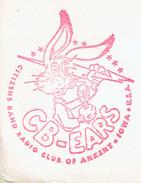 Lapin Rabbit Bugs Bunny On Letter From Ankeny (iowa) To Belgium 23 April 1968 - Merchandising