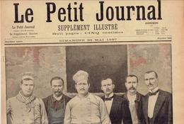 LE PETIT JOURNAL N° 340 - 23 Mai 1897 Catastrophe Rue Jean-Goujon Obsèques Duc D'Aumale La Pêche Française - Journaux - Quotidiens
