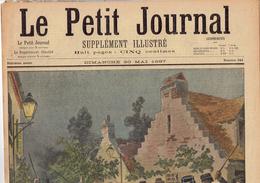 LE PETIT JOURNAL N° 341 - 30 Mai 1897 Enfant Martye De Hellemmes (Lille) Andouillettes Insectes Dorpat Russie - Journaux - Quotidiens