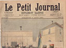 LE PETIT JOURNAL N° 351 - 8 Août 1897 Chiens De Guerre  Cycliste Drapeau Des Douaniers Soliman - Journaux - Quotidiens