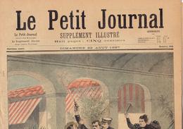 LE PETIT JOURNAL N° 353 - 22 Août 1897 Assassinat Canovas Insectes Félix Faure Alpes Lorraine Crimée - Journaux - Quotidiens