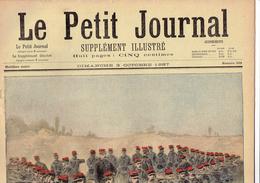 LE PETIT JOURNAL N° 359 - 3 Octobre 1897 Cyclistes Soulèvement Inde Anglaise Guerre Sainte Hoche Crimée - Periódicos