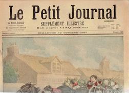 LE PETIT JOURNAL N° 360 - 10 Octobre 1897 Papillon Pommier Madagascar Bruneau Terre Neuve Sidi Brahim - Journaux - Quotidiens