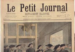 LE PETIT JOURNAL N° 362 - 24 Octobre 1897 Orgues De Barbaries Alpin Rome Faure Commerce Et Industrie - Journaux - Quotidiens