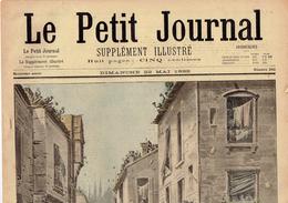 LE PETIT JOURNAL N° 392 - 22 Mai 1898 Italie Milan Vélo Cuba Émeutes Bondou Gambie - Journaux - Quotidiens