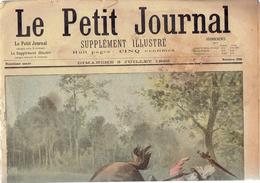 LE PETIT JOURNAL N° 398 - 3 Juillet 1898 Ruade Guerre Hispano-américaine Débarquement Guantanamo - Journaux - Quotidiens