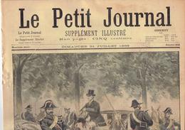LE PETIT JOURNAL N° 402 - 31 Juillet 1898 Dreyfus Procès Zola Versailles Chiens De Chasse Accident Corniche - Kranten
