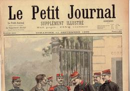 LE PETIT JOURNAL N° 408 - 11 Septembre 1898 De Négrier Saint Louis Jérusalem Cabanel - Kranten