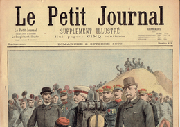 LE PETIT JOURNAL N° 411 - 2 Octobre 1898 Duc Du Connaught  Godin Assassinat Sœur Boinet Libourne - Kranten