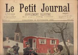 LE PETIT JOURNAL N° 417 - 13 Novembre 1898 Eugène Loup Capitaine Baratier Pont Buttes-Chaumont - Kranten