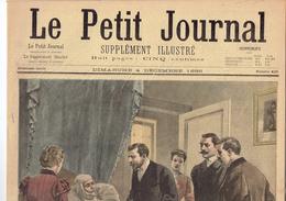 LE PETIT JOURNAL N° 420 - 4 Décembre 1898 Palais De Justice Boursy Restaurant Champeaux Mulhouse St-Céry - Kranten
