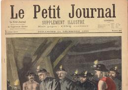 LE PETIT JOURNAL N° 421 - 11 Décembre 1898 Mine Félix Faure Lens Chauvin Drapeau - Kranten