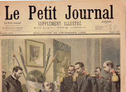 LE PETIT JOURNAL N° 423 - 25 Décembre 1898 Drapeau Edmund Monson Brigand Paris - Journaux - Quotidiens