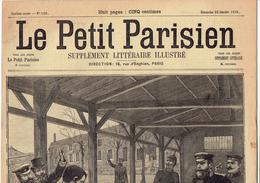 LE PETIT PARISIEN N° 520 (22 Janvier 1899) Duel Metz Pont Fontenoy-sur-Moselle Assassinat Pierre-Leroux - Kranten