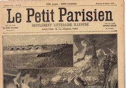 LE PETIT PARISIEN N° 521 (29 Janvier 1899) Fontenoy-sur-Moselle Pont De Prat Marchand - Journaux - Quotidiens