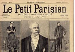 LE PETIT PARISIEN N° 525 (26 Février 1899) Décès De Félix Faure Loubet Nouveau Président Corbeaux - Kranten