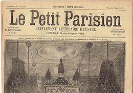 LE PETIT PARISIEN N° 526 (5/3/1899) Funérailles De Félix Faure Nicolas II Empereur De Russie - Journaux - Quotidiens