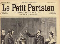 LE PETIT PARISIEN N° 530 (2 Avril 1899) Exécution De Martha Place Chaise électrique Meurtre - Journaux - Quotidiens
