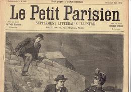 LE PETIT PARISIEN N° 531 (9 Avril 1899) Toulon Arsenaux Militaires Ballon Aéronaute Mme Charly - Kranten