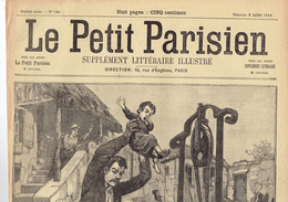 LE PETIT PARISIEN N° 544 (9 Juillet 1899) Petigny Chimay Turquie Banditisme Chevalier - Kranten