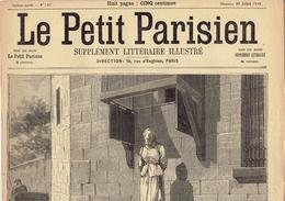 LE PETIT PARISIEN N° 547 (30 Juillet 1899) Empoisonneuse Mary Ansell Aéronaute Caillard Demagny Brugère - Kranten