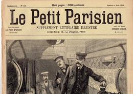 LE PETIT PARISIEN N° 548 (6 Août 1899) Crime Train 313 Assassinat Cantinère Médaille - Journaux - Quotidiens