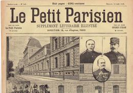 LE PETIT PARISIEN N° 549 (13 Août 1899) Dreyfus Rennes Lycée Conseil De Guerre Carrière Coupois Chamoin Prison Montagne - Kranten