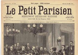 LE PETIT PARISIEN N° 550 (20 Août 1899) Dreyfus Lycée Rennes Jouaust Conseil De Guerre Coupois Mercier Casimir Perier - Kranten
