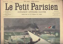 LE PETIT PARISIEN N° 653 Du 11 Août 1901 Sous-marin Morse Chine Architectes - Le Petit Parisien