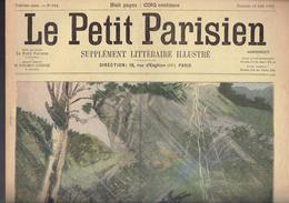 LE PETIT PARISIEN N° 654 Du 18 Août 1901 Alexandre III Tsar Tsarine Imperatrice Frédéric Chaleur à Paris - Kranten