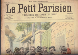LE PETIT PARISIEN N° 656 Du 1er Septembre 1901 Lord Kitchener Famille Impériale De Russie Tsar Saint-Cyr - Kranten