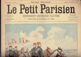 LE PETIT PARISIEN N° 658 Du 15 Septembre 1901 Brugère Compiègne La Rochelle - Kranten