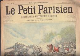 LE PETIT PARISIEN N° 667 Du 17 Novembre 1901 Transvaal Bergkelaagte Amiral Caillard Locomotive - Journaux - Quotidiens